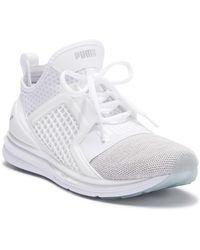 e83c4d535c3 Lyst - PUMA Ignite Evoknit Low Top Training Sneaker in Gray for Men