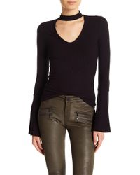 PAIGE - Skylynn Bell Sleeve Sweater - Lyst