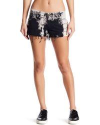 Siwy - Camilla Raw Edge Shorts - Lyst