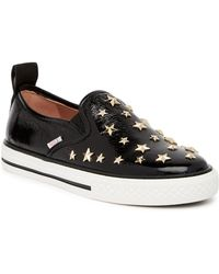 RED Valentino - Star Studded Slip-on Trainer - Lyst