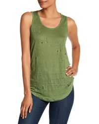 Acrobat - Distressed Tank - Lyst