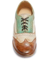 Bed Stu - Lita Wingtip Oxford - Lyst