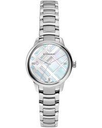Burberry - Women's Diamond Bracelet Watch - 0.022 Ctw - Lyst