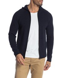Theory - Conor Front Zip Sweater - Lyst