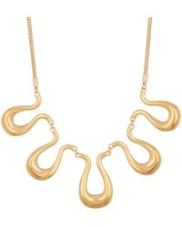 Trina Turk - Wavy Frontal Station Necklace - Lyst
