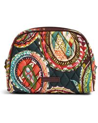 Vera Bradley - Medium Zip Cosmetic Bag - Lyst