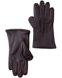 UGG - Wrangell Smart Leather Gloves - Lyst