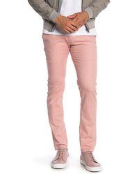 "T.R. Premium Comfort Fit Dress Pants - 30-32"" Inseam - Pink"
