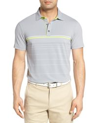Bobby Jones - Tyson Tech Stripe Golf Polo - Lyst