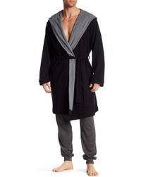 Bread & Boxers - Hooded Thermal Robe - Lyst