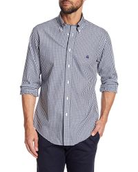 Brooks Brothers - Regent Dobby Gingham Regular Fit Shirt - Lyst