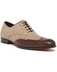 Mezlan - Modified Wingtip Oxford - Lyst