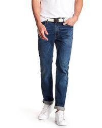 "Levi's - 513 Vines Slim Straight Fit Jeans - 30-34"" Inseam - Lyst"