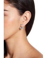 Marchesa - Multi-cut Stone Floater Earrings - Lyst