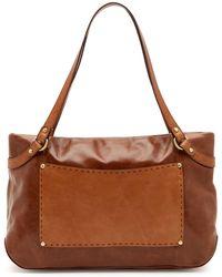 Hobo - Knoll Leather Shoulder Bag - Lyst