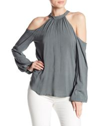 Tina + Jo - Kaleigh Cold Shoulder Top - Lyst