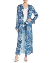 Tularosa - Michelle Floral Print Kimono - Lyst