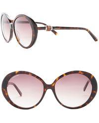 Swarovski | Women's Oversized Acetate Frame Sunglasses | Lyst