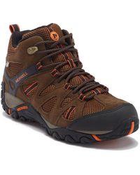 Merrell - Deverta Mid Ventilation Waterproof Hiking Boot - Lyst