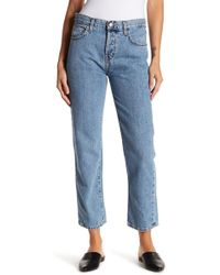 Current/Elliott - The Original Straight Leg Jeans - Lyst