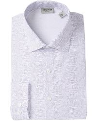 Kenneth Cole Reaction - Slim Fit Printed Dress Shirt - Lyst