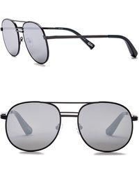 Elizabeth and James - Women's Watts 53mm Metal Aviator Sunglasses - Lyst