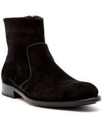 Mezlan - Plain Toe Mini Lug Boot - Lyst