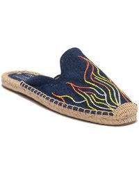 Soludos - Stitched Flames Mule - Lyst