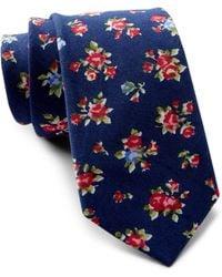 Original Penguin - Mardy Floral Tie - Lyst
