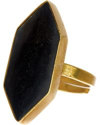 Soko - Trapezoid Horn Ring - Lyst