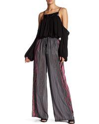Analili - Silk Wide Leg Pant - Lyst