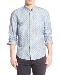 Life After Denim | Koi Print Linen Blend Extra-trim Fit Woven Shirt | Lyst