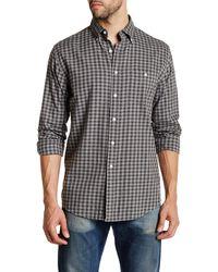 Pendleton | Long Sleeve Gingham Heathered Classic Fit Shirt | Lyst