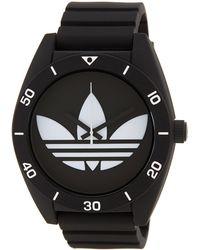 adidas Originals - Women's Santiago Silicone Watch - Lyst