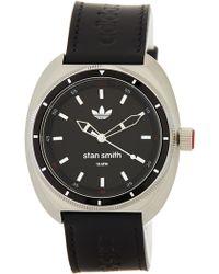 adidas Originals - Men's Stan Smith Leather Watch - Lyst
