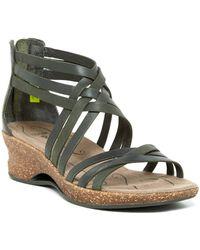 Ahnu - Trolley Wedge Sandal - Lyst
