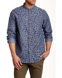 Altru - Printed Long Sleeve Regular Fit Shirt - Lyst