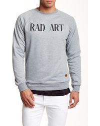 Altru - Raglan Crew Neck Sweater - Lyst