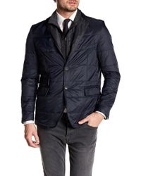 Bugatchi - Removable Placket Jacket - Lyst