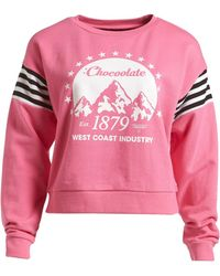 Chocoolate - 'mountain' Sweatshirt (women) - Lyst