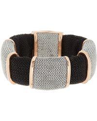 Adami & Martucci - 18k Rose Gold Vermeil Mesh Stretch Bracelet - Lyst