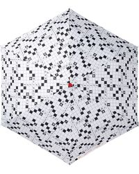 Betsey Johnson - Words With Friends Open/close Umbrella - Lyst