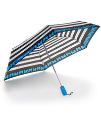 Betsey Johnson - Auto Folding Print Umbrella - Lyst