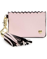 Betsey Johnson - Tassel Card Case - Lyst