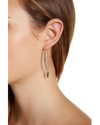 Botkier - Graduated Pave Stone Earrings - Lyst