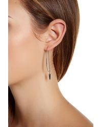Botkier - Knife Edge Earrings - Lyst