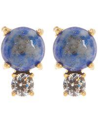 Botkier - Mini Double Stone Stud Earrings - Lyst