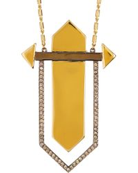 Botkier - Statement Geometric Pendant Necklace - Lyst