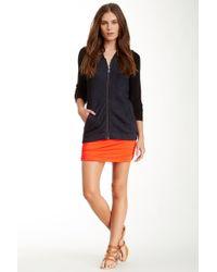 Bella Luxx - Shirred Mini Skirt - Lyst