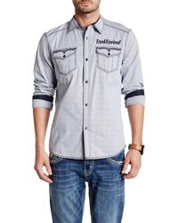Rock Revival - Regular Fit Long Sleeve Shirt - Lyst